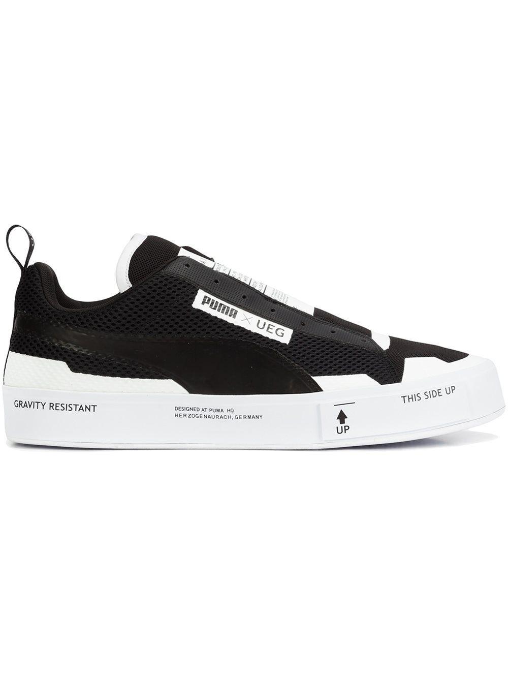Puma 'Court Play' Sneakers - Farfetch