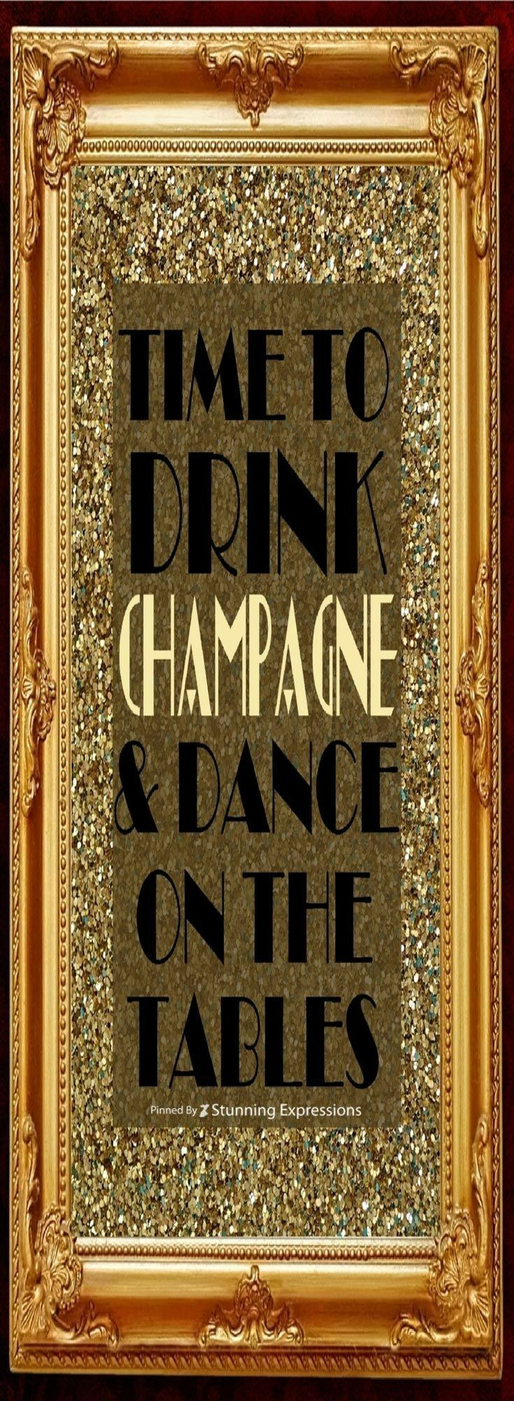 Pin by Brighteyes™️ on CHAMPS! Gatsby party decorations