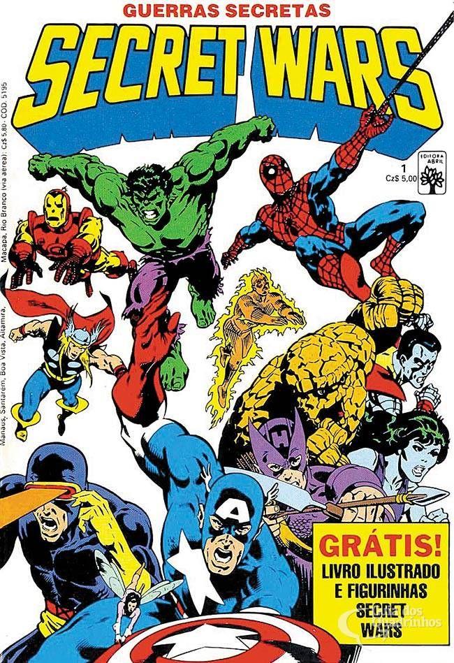 Secret Wars (Guerras Secretas) n° 1/Abril | Guia dos Quadrinhos