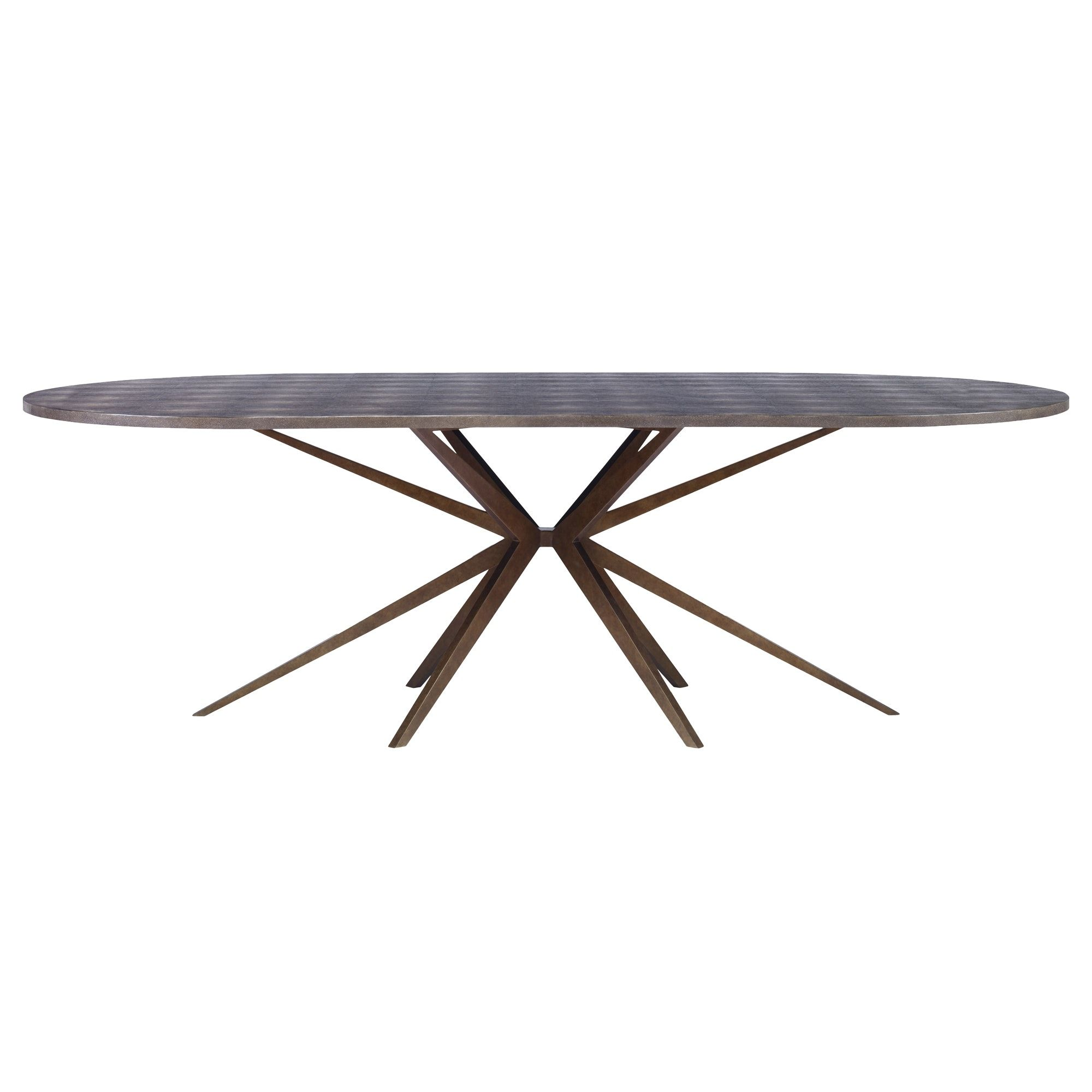 buy atlantis oval dining table by mr brown london made to order rh pinterest com