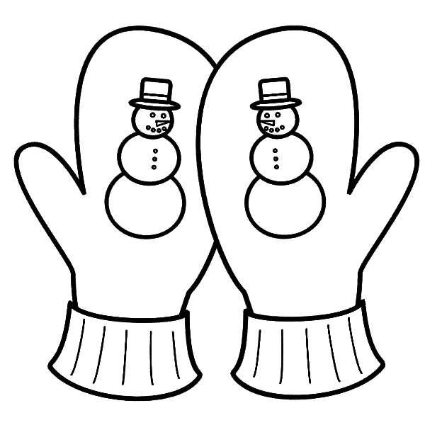 Snowy Season Mittens Coloring Pages Color Luna Snowman Coloring Pages Coloring Pages For Kids Shape Coloring Pages
