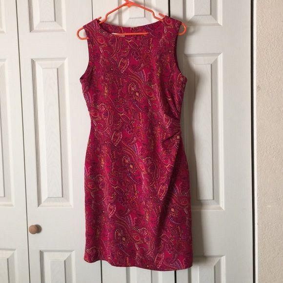 Beautiful red dress Size 12 petites David warren Dresses Midi