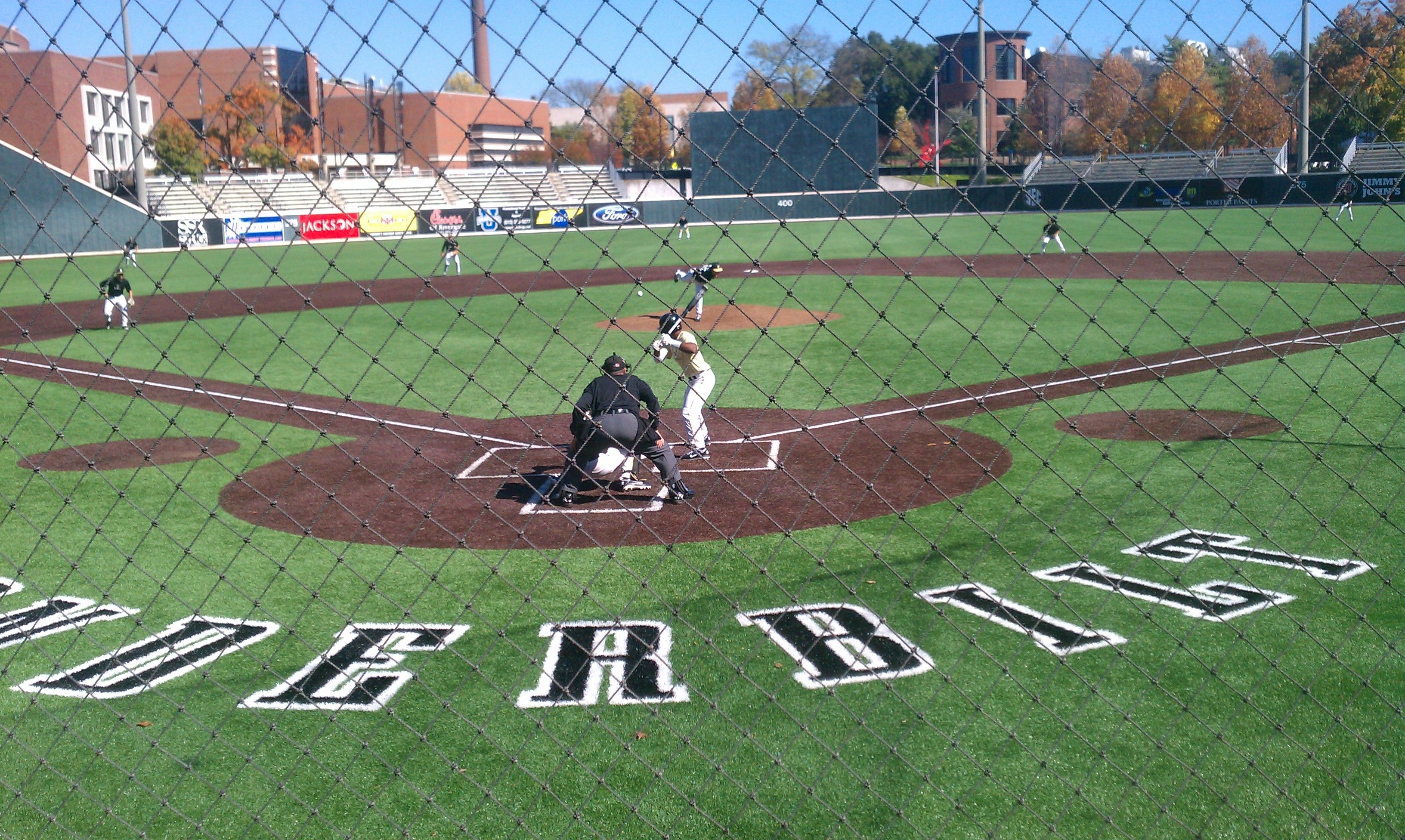 Vanderbilt University Hawkins Field Travel Baseball College Baseball Vanderbilt University