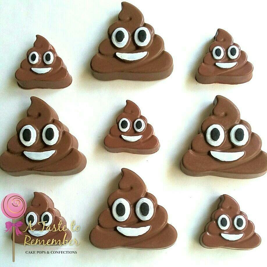 Poop emoji or ice cream emoji chocolate covered oreos   Chocolate ...