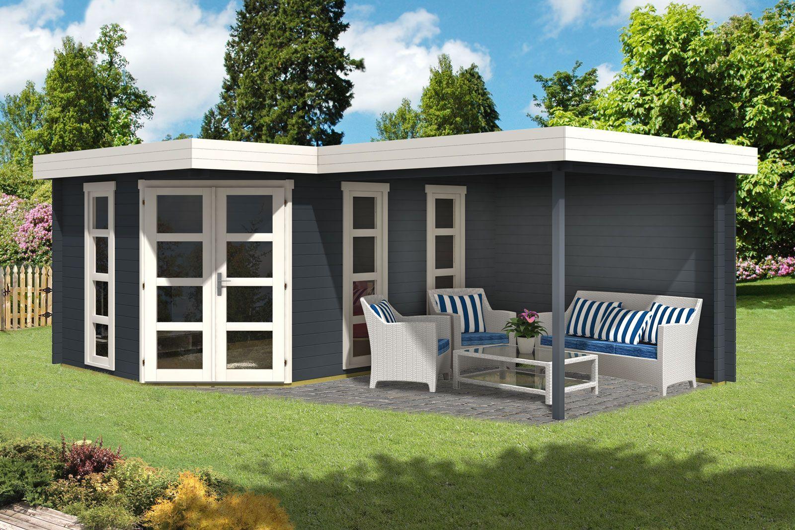 5-Eck Gartenhaus Lindau-40 mit Anbau Bestellen Sie Ihr Gartenhaus beim Fachmann! Über 1.000 Modelle mit Flachdach, Spitzdach, 5-Eck uvm. +++ 0€ Versand. +++ Jetzt Schnäppchen sichern!