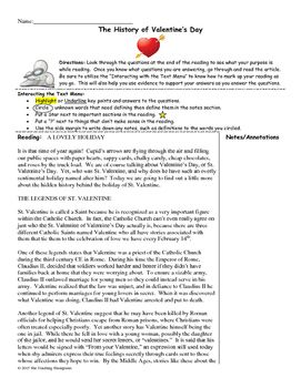 How To Write An Essay High School History Of Valentines Day Close Readingsummary Writingth Grade  Close  Readings  Close Reading Classroom Activities Writing Assignments Essay On Myself In English also College Vs High School Essay History Of Valentines Day Close Readingsummary Writingth Grade  Essay On Health Care