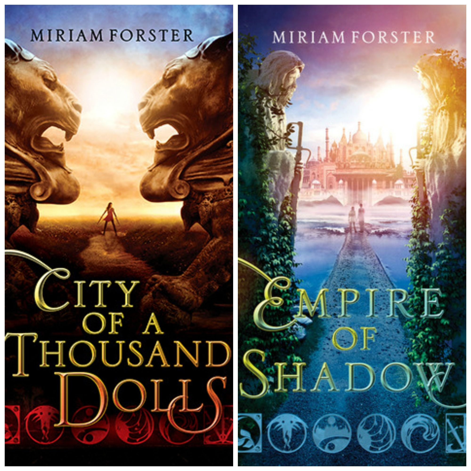 Bhinian Empire series by Miriam Forster