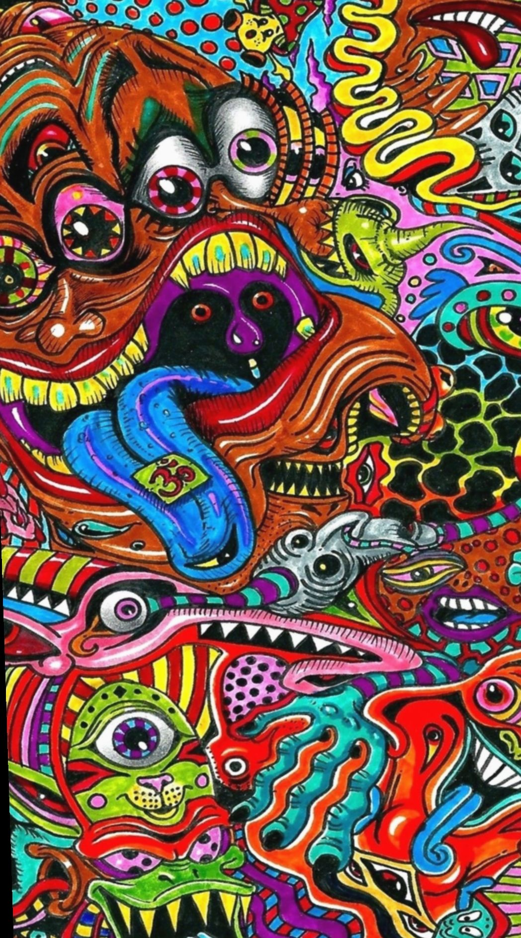 15 Drawing Doodles Videos Hipster Trippy Iphone Wallpaper