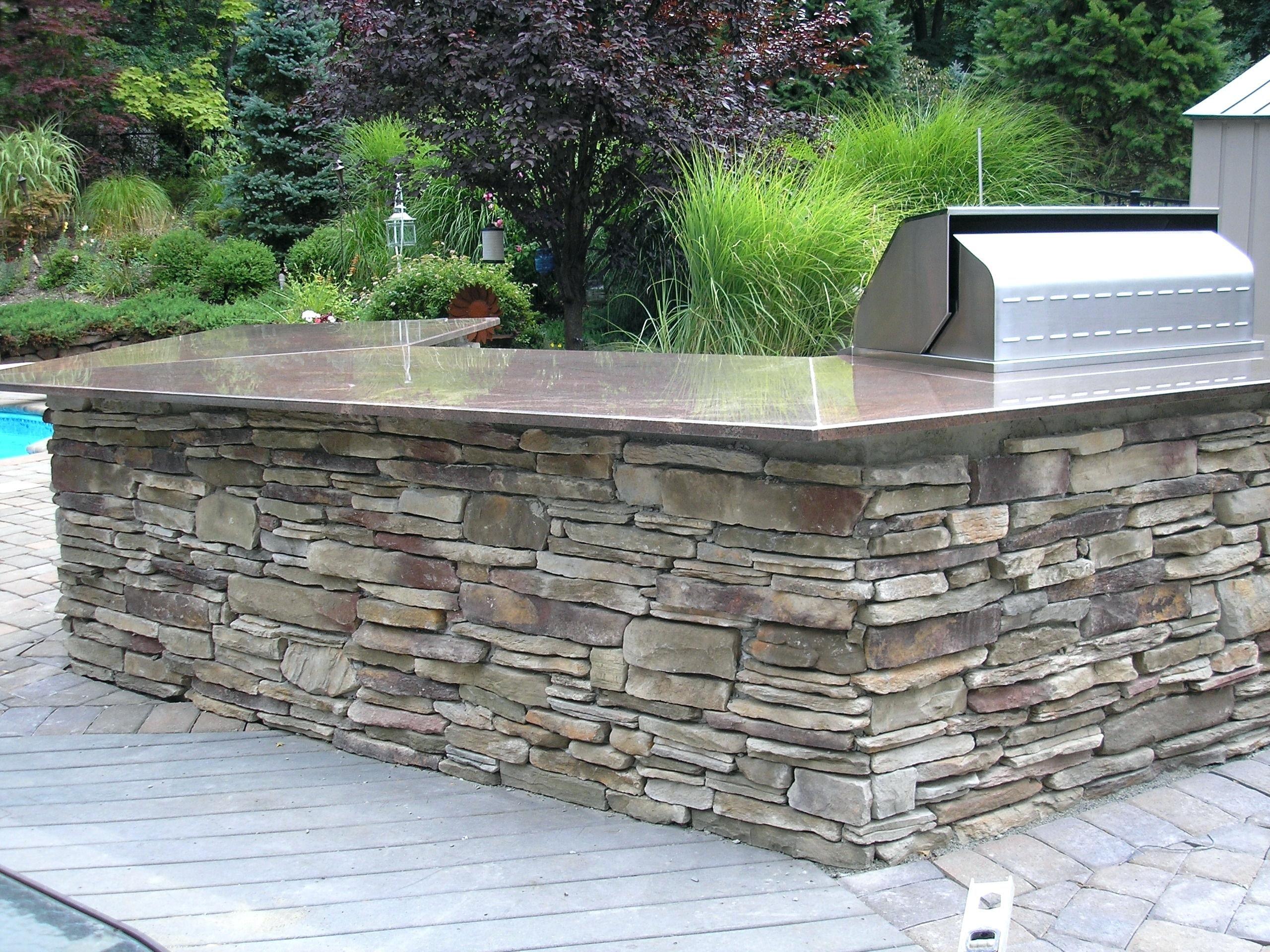 Outdoor Stone Veneer Canada Grill Cost Outdoor Stone Outdoor Kitchen Countertops Diy Outdoor Kitchen