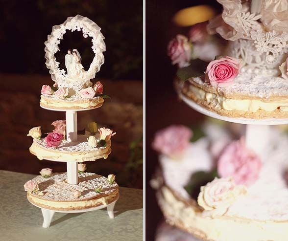 Italian Wedding Desserts: Italian Mille-Foglia (zuppa Ingelese)