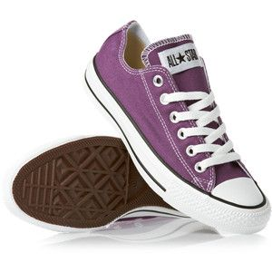 Converse All Star Ox Shoes Lakers Purple