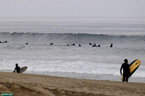 El Porto Beach Am Surf Surfing Surf Forecast Beach