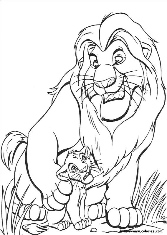 lion king drawings mufasa coloured - Google Search | drawing ...
