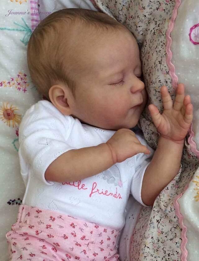 Joanna S Nursery Adorable Reborn Baby Doll Amelia Kazmierczak Joannasnursery
