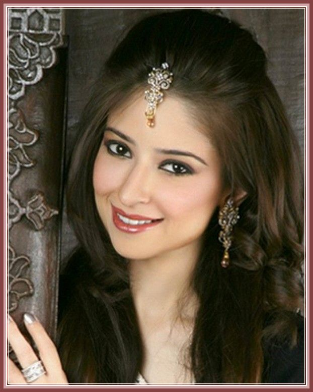 Awesome 1000 Images About Indian Wedding Hairstyles On Pinterest Hair Hairstyle Inspiration Daily Dogsangcom