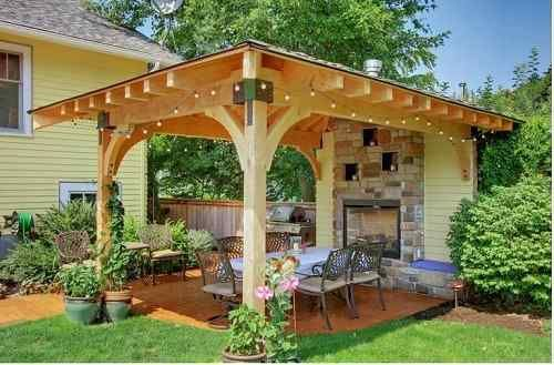 stand alone patio cover ideas that can