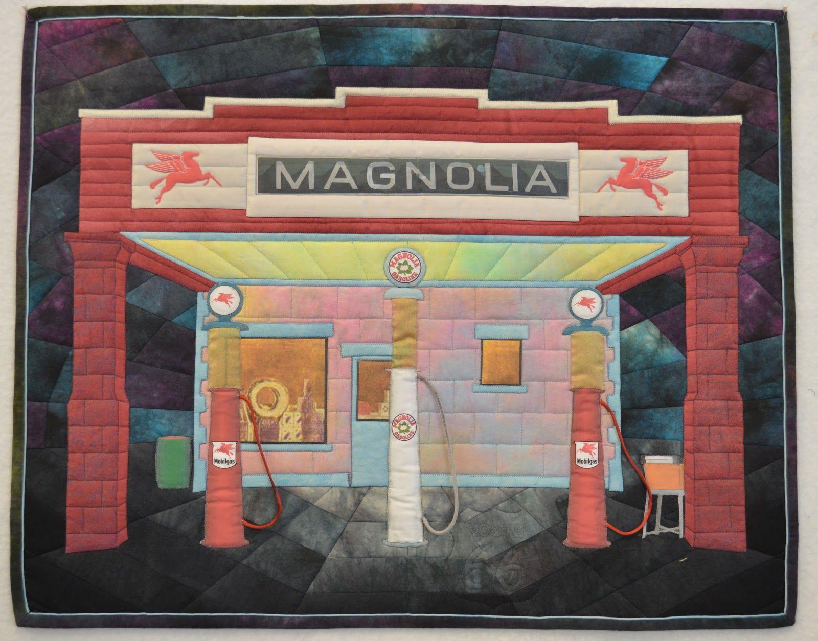 Route 66 Quilts Art Quilts