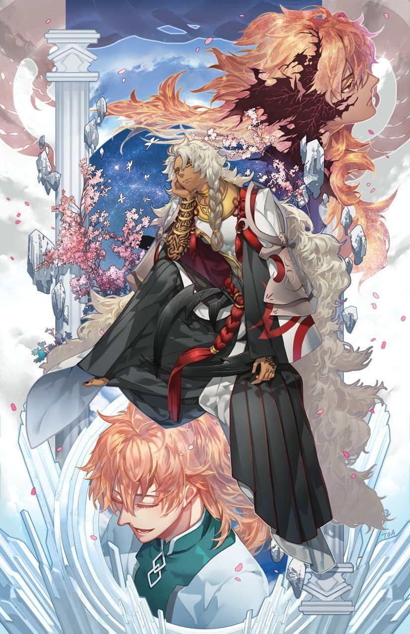 King of mages grandorder fate anime series character