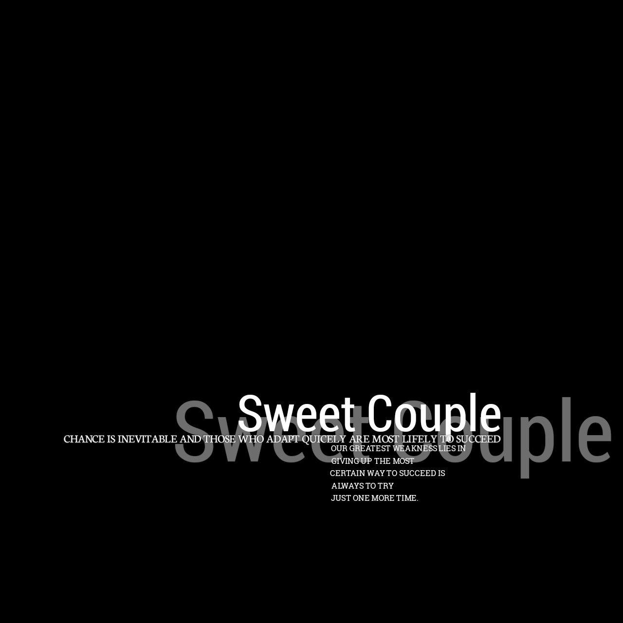 Sweet Couple Kata Kata Indah Pengeditan Foto Desain Grafis