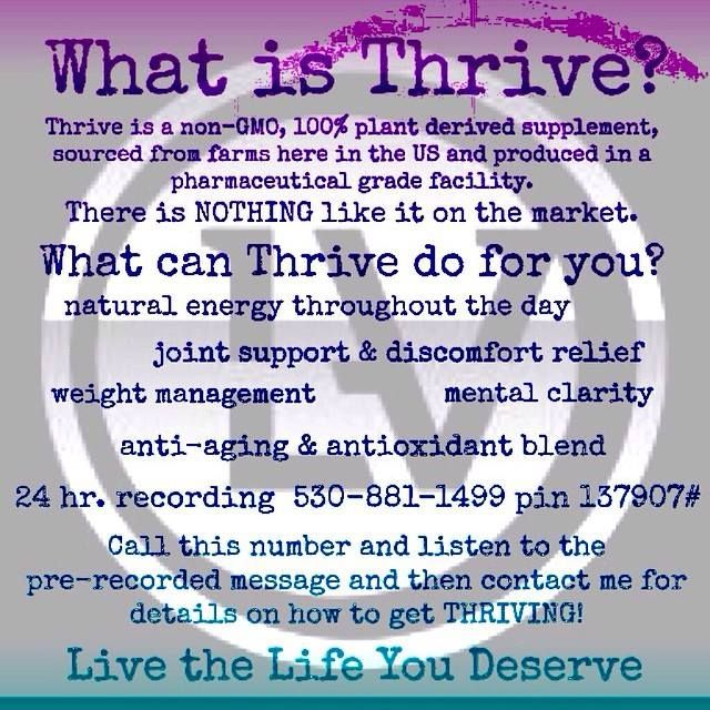 What is Thrive?!