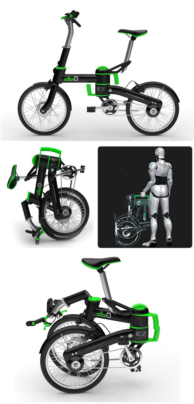 Bike Db Zero Modelta Elektrische Scooters En Fietsen 自転車