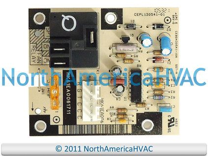1171734 Oem Icp Heil Tempstar Comfortmaker Furnace Fan Control Board Safety Switch Ebay Circuit Board