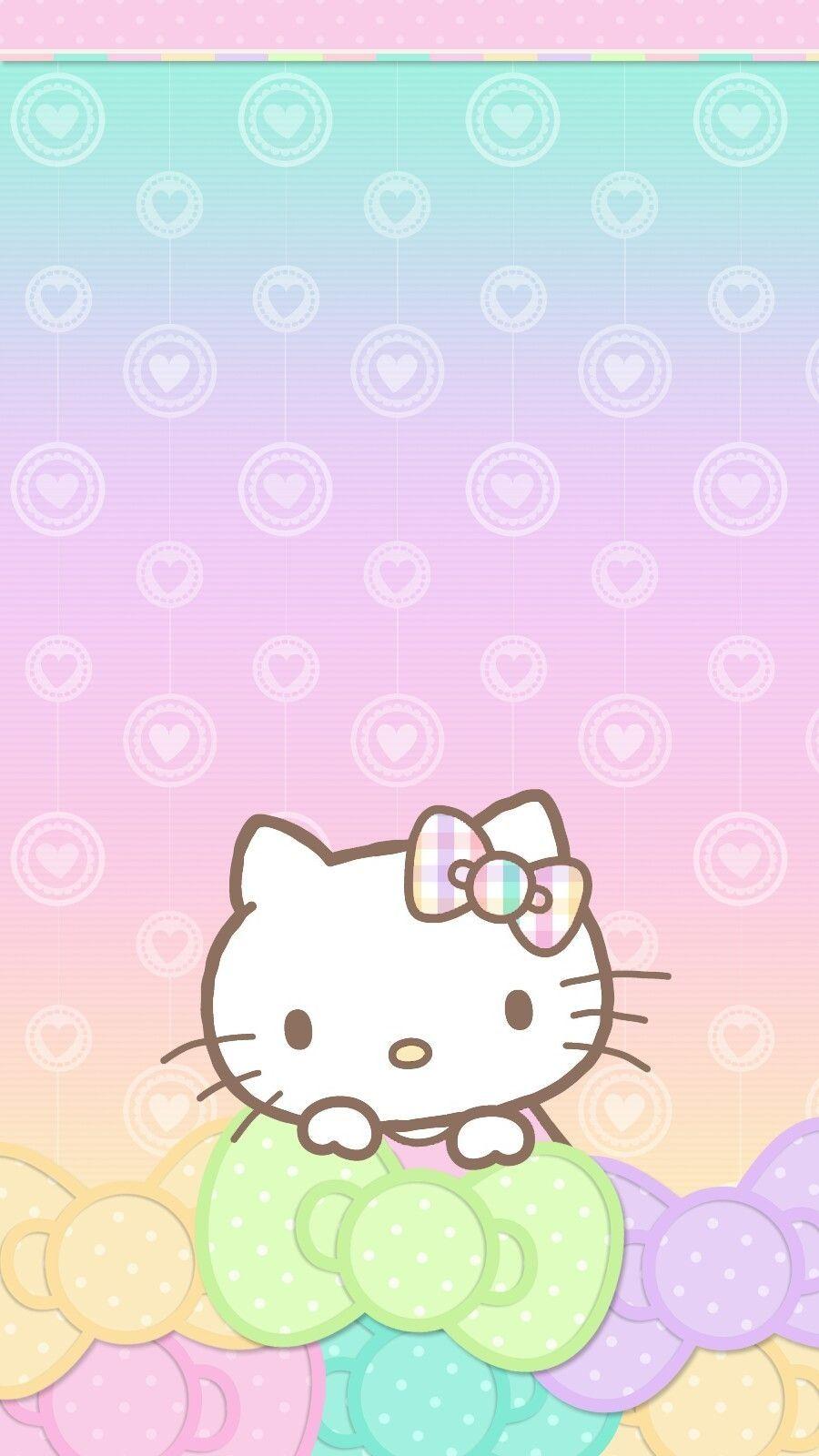 Pastel Valentine Wallpaper Iphone Android Hello Kitty Throughout Hello Kitty Wallpaper For Androi Hello Kitty Backgrounds Hello Kitty Wallpaper Hello Kitty Art