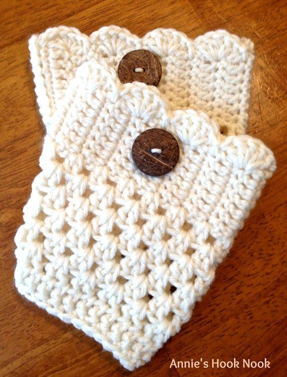 Crochet Boot Cuffs | CROCHET LEGWARMERS | Pinterest | Tejido, Botas ...