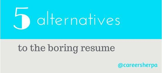 Get Visual 5 Alternatives to the Boring Resume LinkedIn - get resume from linkedin