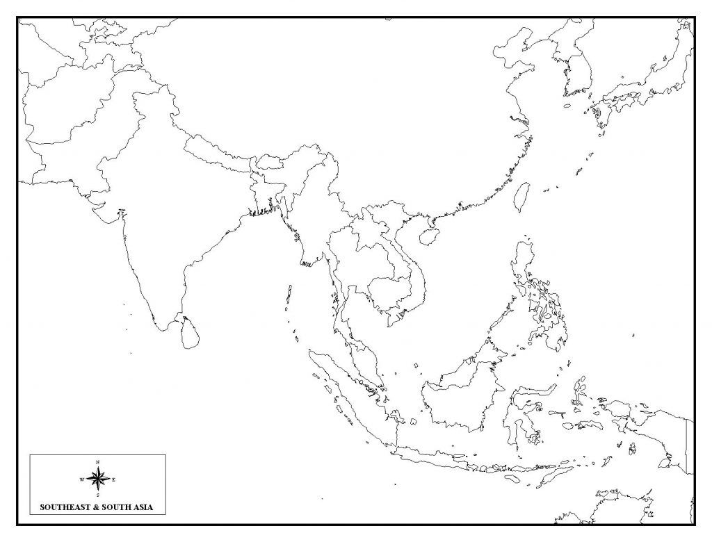 Sample, Example & Format Templates: Blank Map Of Southeast