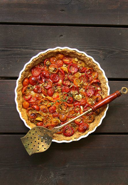 Heirloom Tomato Tart by Beth Kirby | {local milk}, via Flickr
