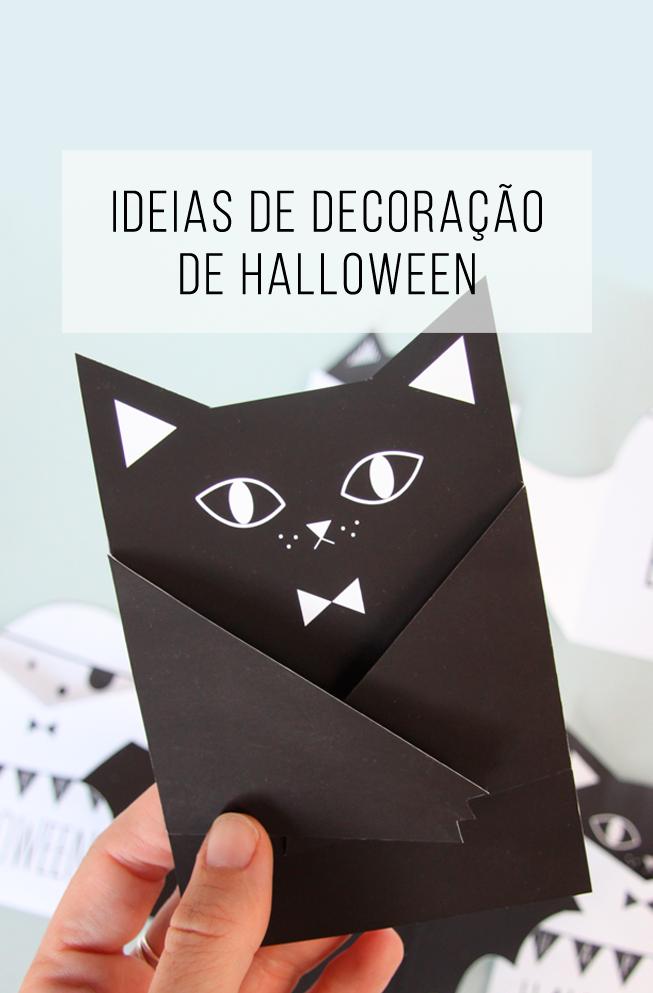 Ideias deúltima hora para decorar uma festa de Halloween! Convites de festas, Halloween  -> Decoração De Festa De Aniversario Halloween