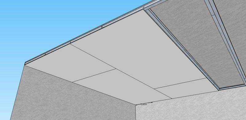 Epingle Par Zonetravaux Blog Sur Travail Du Placo Par Zonetravaux Plafond Autoportant Faux Plafond Faux Plafond Autoportant
