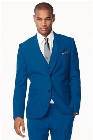 Electric Blue Suit | Three piece suits! | Pinterest | Bold, Blue ...