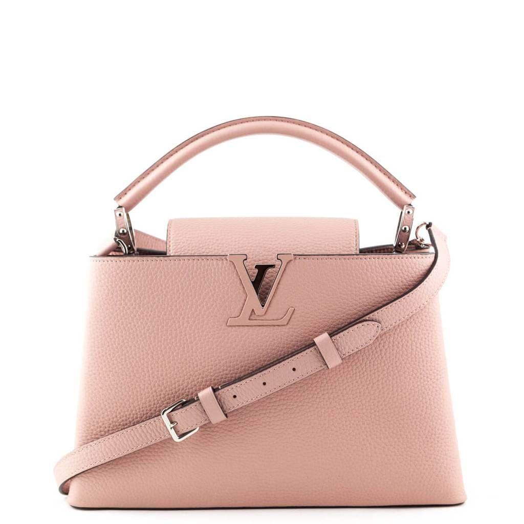 Louis Vuitton Magnolia Taurillon Capucines Pm Love That Bag