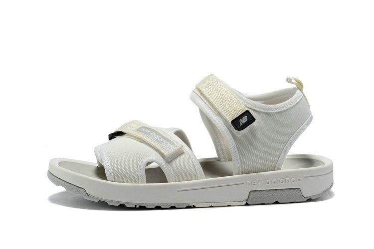 5976b86b856a Spring Summer 2018 New Arrival Unisex New Balance Response Slide Sandal  Beige White