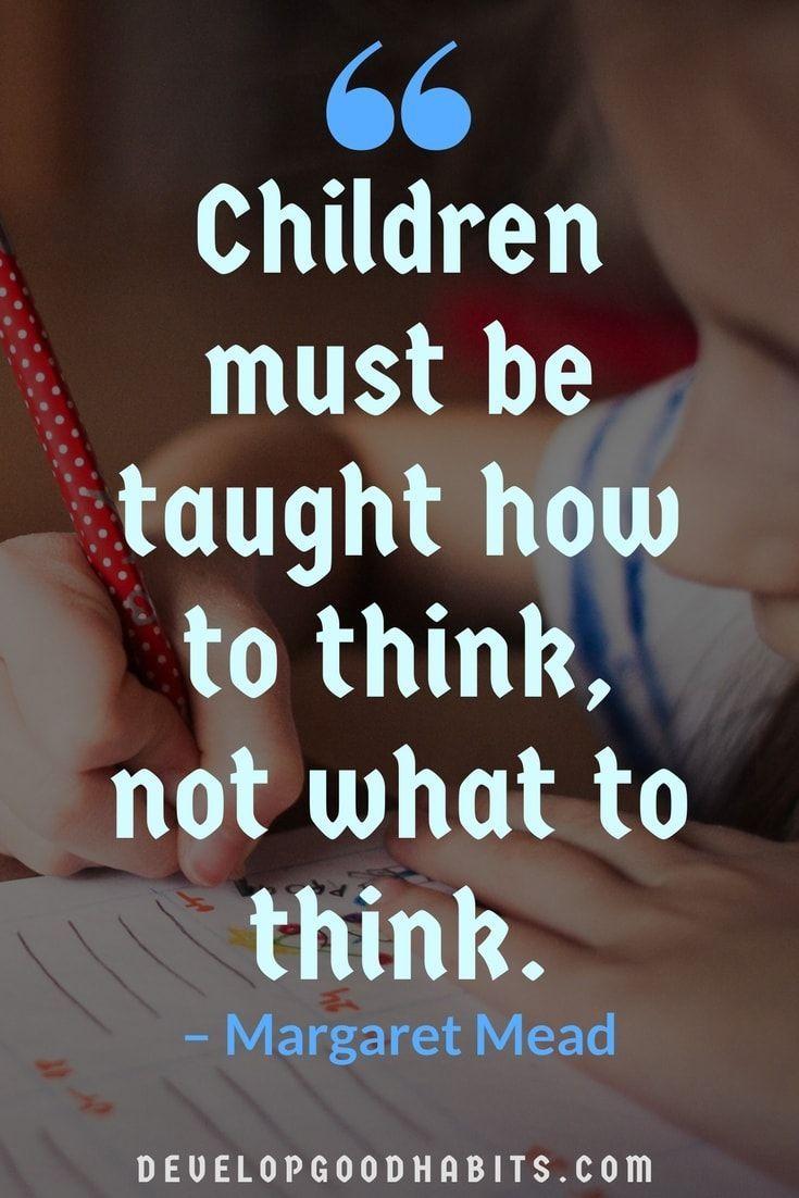 87 Education Quotes: Inspire Children, Parents, AND Teachers
