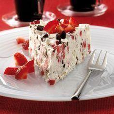 Strawberry Ice Cream Cake Recipe WW Germany