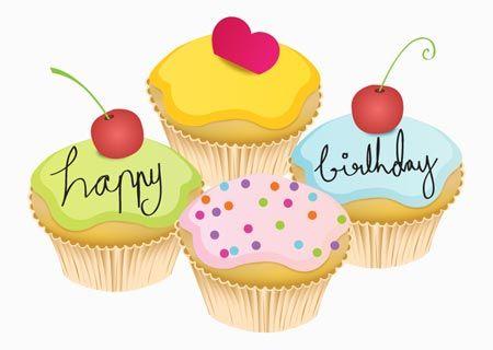 38++ Happy birthday cupcake clipart ideas