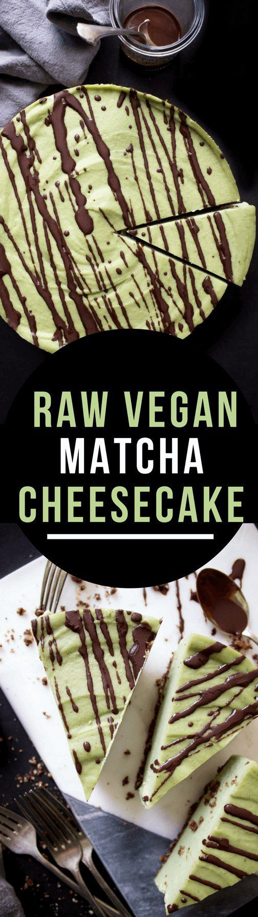 Decadent and creamy this Raw Vegan Matcha Cheesecake is also paleo friendly and has the exact same taste and texture as normal cheesecake!