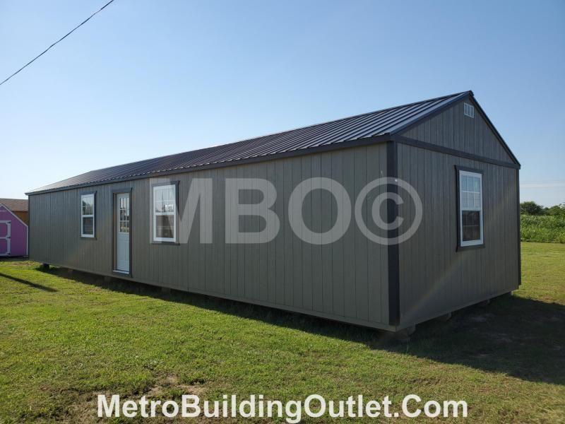 16X52 UTILITY CABIN in 2020 | Lofted barn cabin, Portable ...