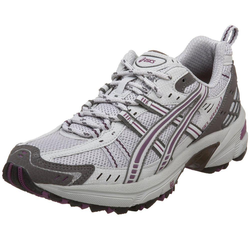 ASICS Women's GEL-Kahana 3 Running Shoes Silver Zinc Plum size 6 NEW 39.99  http