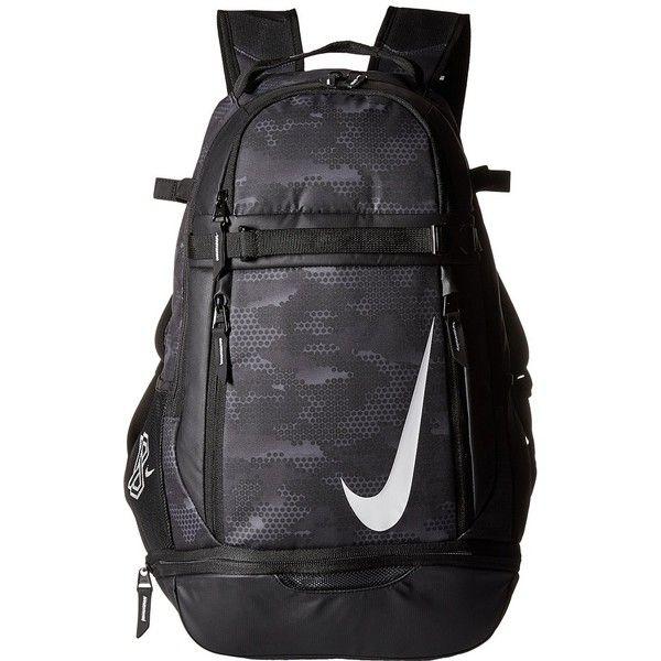 Nike Vapor Elite Bat Backpack Graphic (BlackBlackWhite