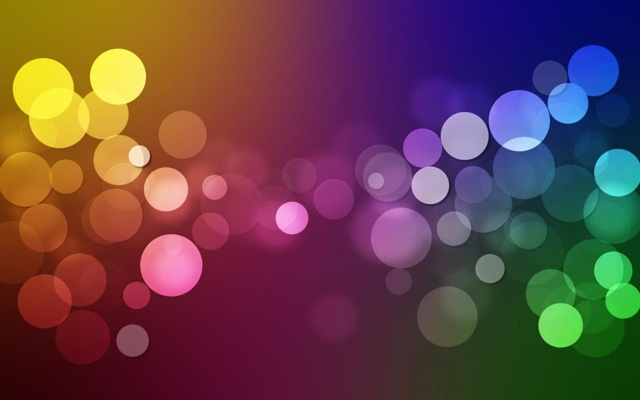 3d Bubbles Wallpaper: Wallpaper Abstract Bubbles Color Background Creative