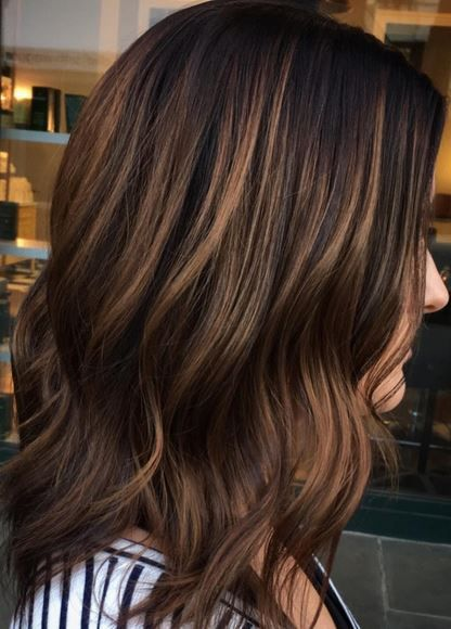 Trendy Hair Color Ideas 2017 2018 Dimensional Brunette