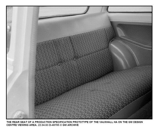 Vauxhall Viva HA Interior