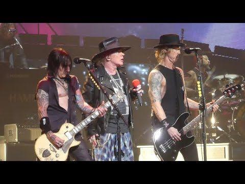 Madagascar (1st Time With Slash & Duff) Guns N Roses@Philadelphia 10/8/17