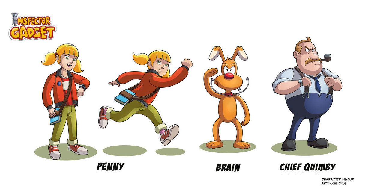 penny from inspector gadget | INSPECTOR GADGET Characters 2 by ...