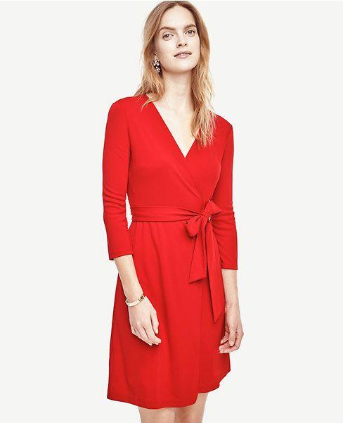 1dd6eb3479f Primary Image of 3 4 Sleeve Wrap Dress