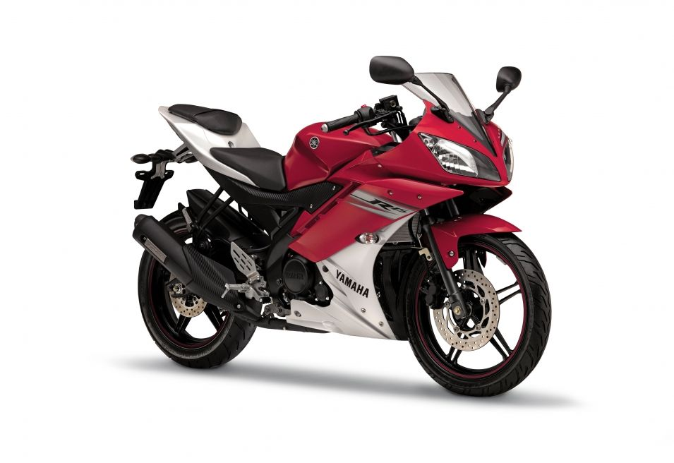 Yamaha Yzf R15 V2 0 In Sunset Red Lams Bike Yamaha Motorcycles